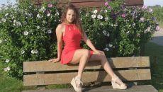 Dans ma robe rouge